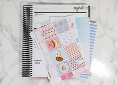 Collective planner stickers ideas shop plan pwm donut