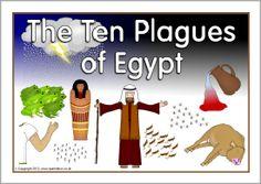 The Ten Plagues of Egypt visual aids (SB8567) - SparkleBox
