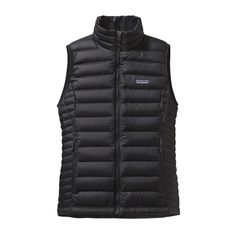 Patagonia, W'S DOWN SWEATER VEST, Black (BLK) // $179, xx-small