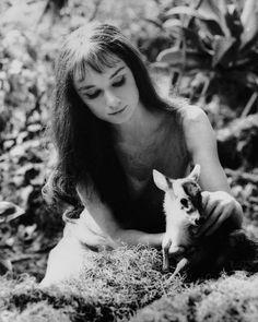 Audrey Hepburn. 1958