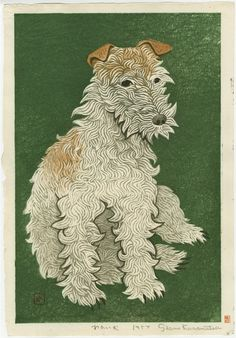 Japanese woodblock print by Kasamatsu Shiro