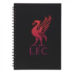 LFC A4 Notebook Black | Liverpool FC Official Store