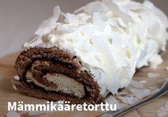 Mämmikääretorttu, Resepti: Arla #kauppahalli24 #pääsiäinen #ruoka #resepti #mämmi #kääretorttu