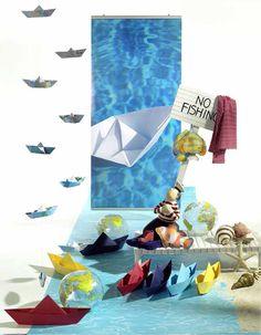 Creation Vetrina: Idea Vetrina Estate: No Fishing