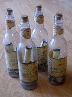 Map in a bottle