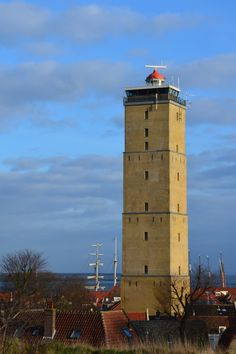 Lighthouse Brandaris on Terschelling, Netherlands