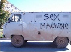 SEX MACHINE | Picture | 60 Bizarre And Bewildering Pics From Around The Web | Break.com