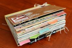 SMASH -this site has tons of pics of completed Smash books! RRM