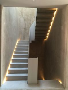 Stairs architecture exterior 35 ideas for 2019 Stair Handrail, Staircase Railings, Staircase Design, Stair Design, Open Staircase, Staircase Remodel, Staircase Ideas, Staircases, Interior Stairs