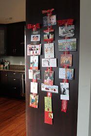 Carolina Charm: Christmas Card Display