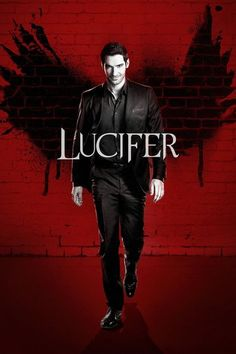 Lucifer cartel de programa de TV A5 A4 A3 A2