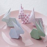 Mes lapins en origami