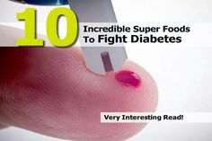 10 super foods to fight diabetes