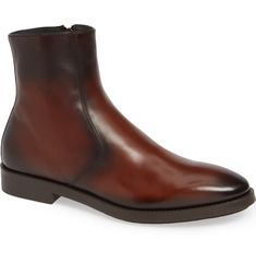 TO BOOT NEW YORK-boots-ROSEMONT ZIP BOOT. #to-boot-new-york #boots To Boot New York, Leather Chukka Boots, Double Monk Strap, Chelsea Boots, Nordstrom, Zip, Shoes, Style, Fashion