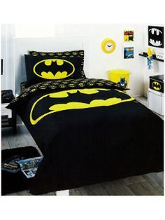 Batman bedding.