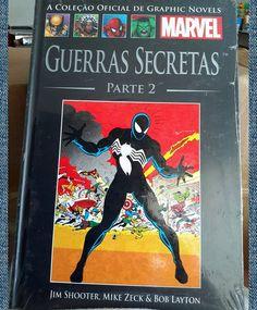 #A #Coleção #Oficial #de #Graphic #Novels #Guerras #Secretas #Parte #2  #Salvat #Quadrinhos #comics #heróis #Heroes #Marvel #hqs #spiderman #xmen #mutants #mutantes #Doom #Jim #Shooter #Mike #Zeck #Bob #Layton