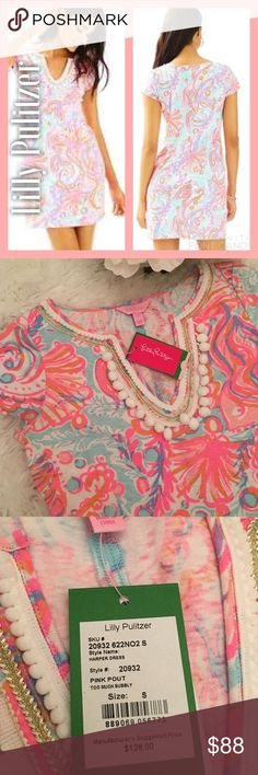 NWT Lilly Pulitzer Harper Dress in Pink Pout NWT Lilly Pulitzer Harper Dress in Pink Pout. Perfectly new, perfectly beautiful dress. My daughters decided to sell to save for summer trip! 👙🏖 Lilly Pulitzer Dresses Mini