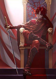 Resultado de imagem para guerreiros ruivos anime