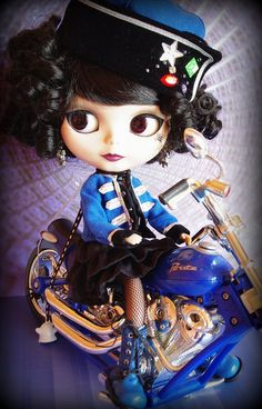 Devon & Mr Blue by LadyGuinevere!, via Flickr