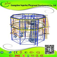 High Adventure Rope Course , Find Complete Details about High Adventure Rope Course,Rope Course,High Rope Course,Adventure Rope Course from Playground Supplier or Manufacturer-Guangzhou Superboy Playground Equipment Co., Ltd.