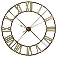 Edward Wall Clock - Clocks - Home Accents - Home Decor   HomeDecorators.com on Wanelo