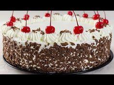 Reteta Tort padurea neagra pas cu pas - JamilaCuisine - YouTube Black Frosting, Russian Cakes, Romanian Food, Romanian Recipes, Black Forest Cake, Savoury Dishes, Dessert Recipes, Desserts, Something Sweet