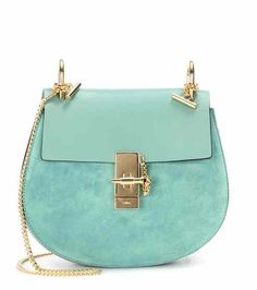 Drew leather and suede shoulder bag  1669fbea3b1dc
