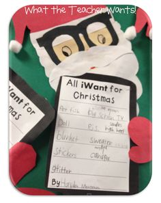 What the Teacher Wants!: Tech the Halls {What iWant for Christmas}