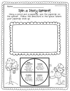 Teach It Today!: Reading Buddies and Story Elements Freebie!