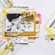 Cut.Paste.Repeat - Raquel Bowman: You are Loved - A Layout Share