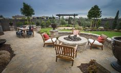 This beautiful space from @lennarnorcal is ideal for outdoor entertaining!