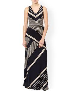 Melinda Stripe Maxi Dress