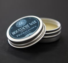 Penhaligon's x Mo & Sons super sticky mo wax. Works a charm!