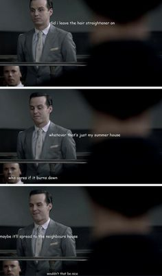 What Moriarty's thinking about during his trial.