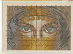 Schema punto croce Chador - PART 2