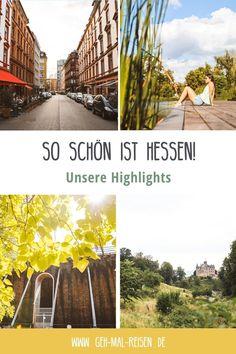 Natur und Großstadtflair – das ist Hessen! Während unseres Roadtrips durften wir auch dieses Bundesland erkunden und stellen dir hier unsere Highlights vor. Viel Spaß beim Nachreisen ;) Kurztrip   Kurzurlaub   Reiseziele