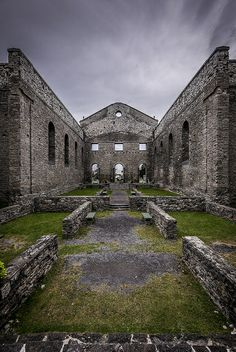 St. Raphael's church ruins in Glengarry, Ontario
