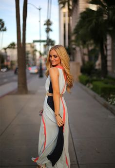 Colorblock Maxi on angelfoodstyle.com