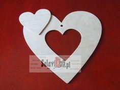 *Serce w sercu 300 mm* w selaviart-pl na DaWanda.com