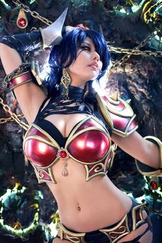 ☆ #CosplayStyle☆ Dota 2 'The Queen of Pain "