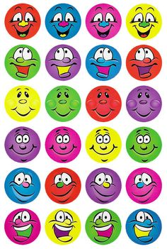 Multi Smiles Merit Stickers - Australian Teaching Aids Educational Resources and Supplies - Teacher Superstore