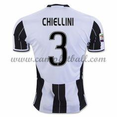 Juventus Fotballdrakter 2016-17 Chiellini 3 Hjemmedrakt