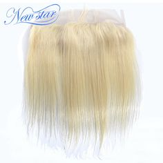 91.25$  Watch here - http://alip3l.worldwells.pw/go.php?t=32425479506 - best seller New Star Hair Virgin Brazilian hair straight #613 lace front closure bleached knots 13*4 size free part lace frontal 91.25$