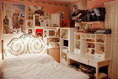 Decoração de quarto Vintage