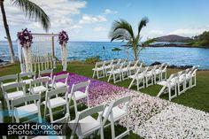 Maui Wedding Ombre Ideas! | Gorgeous Maui Weddings