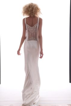 illusion wedding back | If The Ring Fits: Spring 2013 Bridal Trends- Back Illusion