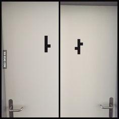 Toilets in my Swiss school