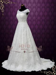 726f908f52c8c Ice Blue Vintage Lace Tea Length Wedding Dress | Shannon | Sams Wedding | Tea  length wedding dress, Wedding dresses, Dresses