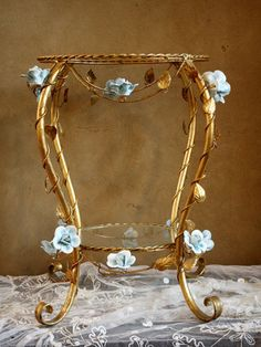 so gaudy but soooo gorgeous. i tend to like hardier stuff, but this is beautiful and delicate