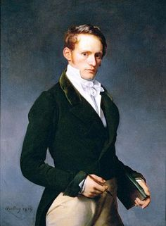 Portrait of an artist (1819), by Michel Martin Drolling